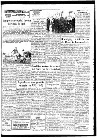 Rotterdamsch Nieuwsblad / Schiedamsche Courant / Rotterdams Dagblad / Waterweg / Algemeen Dagblad 1964-02-03
