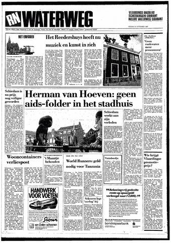 Rotterdamsch Nieuwsblad / Schiedamsche Courant / Rotterdams Dagblad / Waterweg / Algemeen Dagblad 1987-09-25