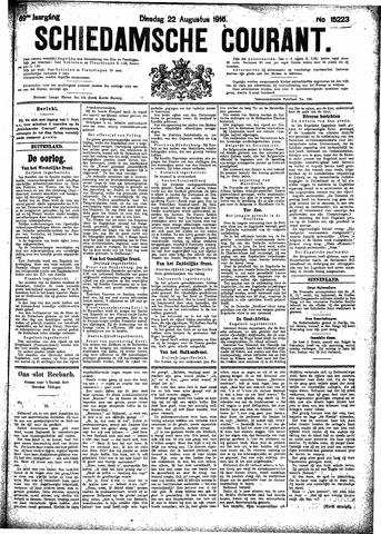 Schiedamsche Courant 1916-08-22