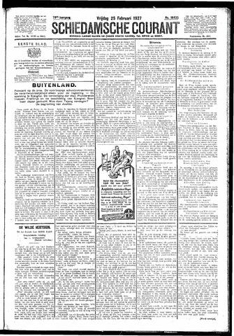 Schiedamsche Courant 1927-02-25