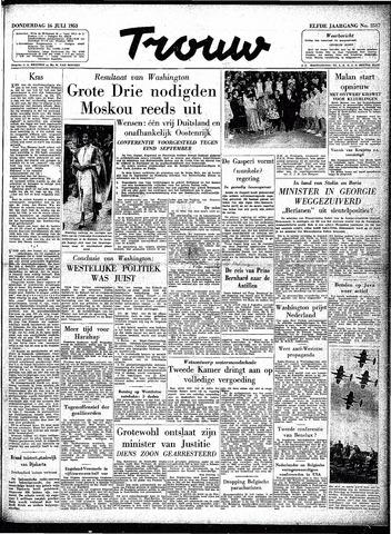 Trouw / De Rotterdammer 1953-07-16