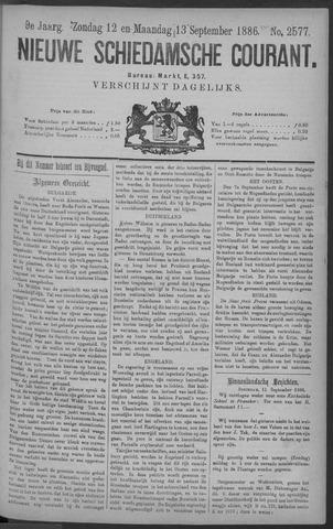 Nieuwe Schiedamsche Courant 1886-09-13