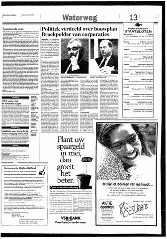 Rotterdamsch Nieuwsblad / Schiedamsche Courant / Rotterdams Dagblad / Waterweg / Algemeen Dagblad 1993-05-19