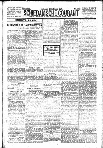 Schiedamsche Courant 1931-02-21
