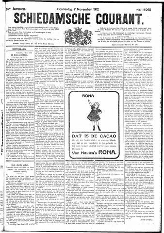 Schiedamsche Courant 1912-11-07