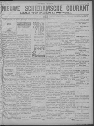 Nieuwe Schiedamsche Courant 1929-10-30