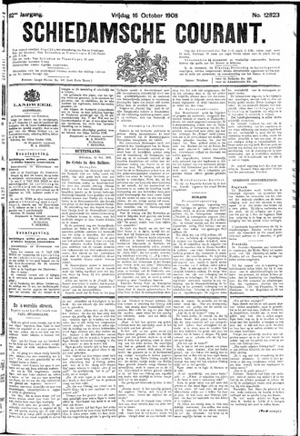 Schiedamsche Courant 1908-10-16