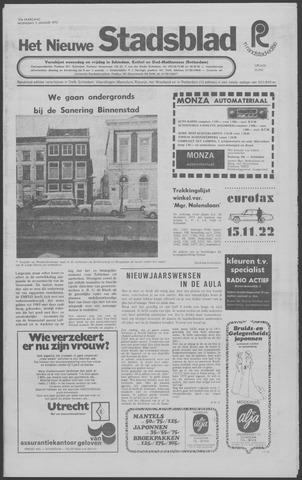 Het Nieuwe Stadsblad 1972