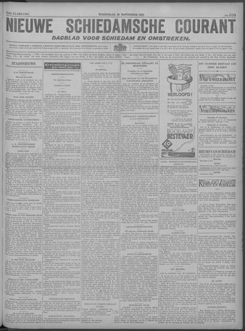 Nieuwe Schiedamsche Courant 1929-11-20