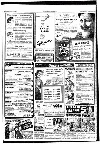 Rotterdamsch Nieuwsblad / Schiedamsche Courant / Rotterdams Dagblad / Waterweg / Algemeen Dagblad 1953-02-12
