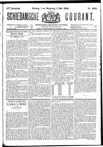 Schiedamsche Courant 1898-05-02