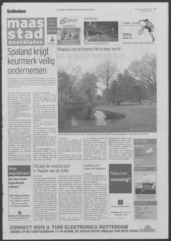 Maaspost / Maasstad / Maasstad Pers 2009-11-04