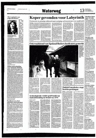 Rotterdamsch Nieuwsblad / Schiedamsche Courant / Rotterdams Dagblad / Waterweg / Algemeen Dagblad 1993-08-12