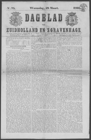 Dagblad van Zuid-Holland 1860-03-28