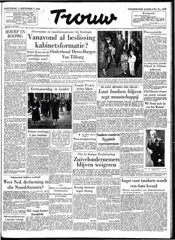 Trouw / De Rotterdammer 1956-09-05