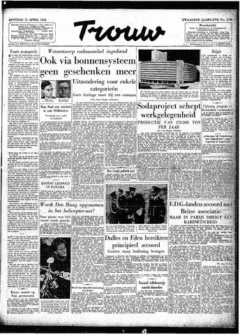 Trouw / De Rotterdammer 1954-04-13