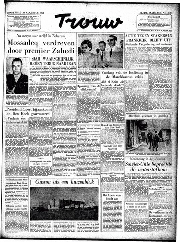Trouw / De Rotterdammer 1953-08-20