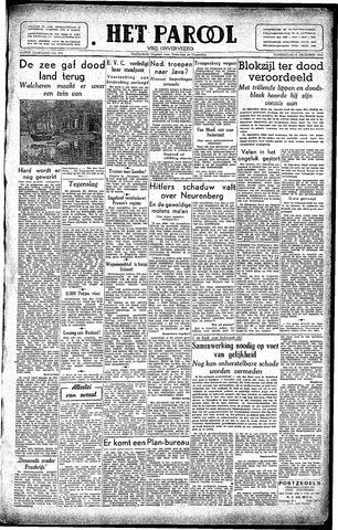 Rotterdamsch Parool / De Schiedammer 1945-12-06