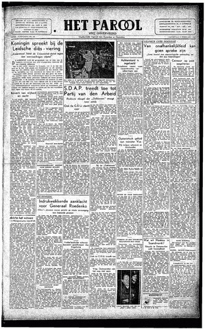 Rotterdamsch Parool / De Schiedammer 1946-02-09