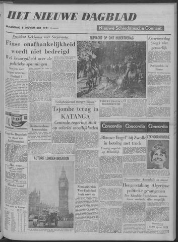 Nieuwe Schiedamsche Courant 1961-11-06