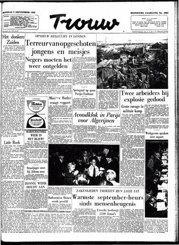 Trouw / De Rotterdammer 1958-09-02