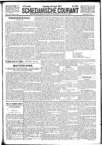 Schiedamsche Courant 1927-04-30