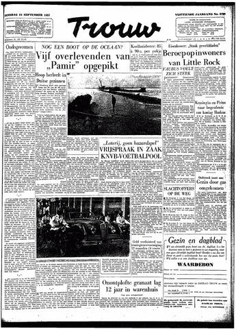 Trouw / De Rotterdammer 1957-09-24