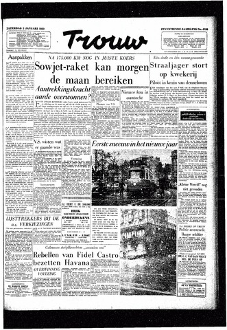 Trouw / De Rotterdammer 1959-01-03