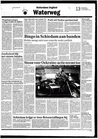 Rotterdamsch Nieuwsblad / Schiedamsche Courant / Rotterdams Dagblad / Waterweg / Algemeen Dagblad 1993-10-05
