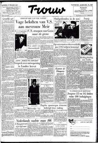 Trouw / De Rotterdammer 1957-03-19