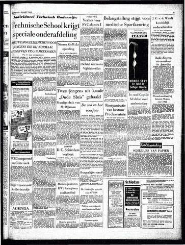 Rotterdamsch Parool / De Schiedammer 1963-03-05