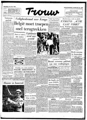 Trouw / De Rotterdammer 1960-07-22
