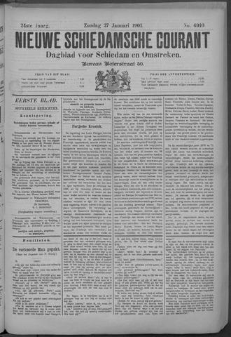 Nieuwe Schiedamsche Courant 1901-01-27
