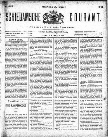 Schiedamsche Courant 1885-03-30