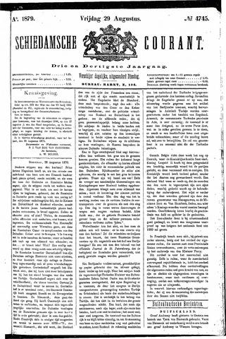 Schiedamsche Courant 1879-08-29