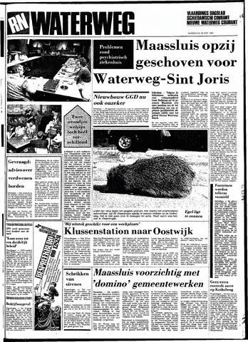 Rotterdamsch Nieuwsblad / Schiedamsche Courant / Rotterdams Dagblad / Waterweg / Algemeen Dagblad 1983-06-22