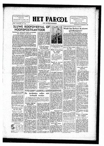Rotterdamsch Parool / De Schiedammer 1946-08-26