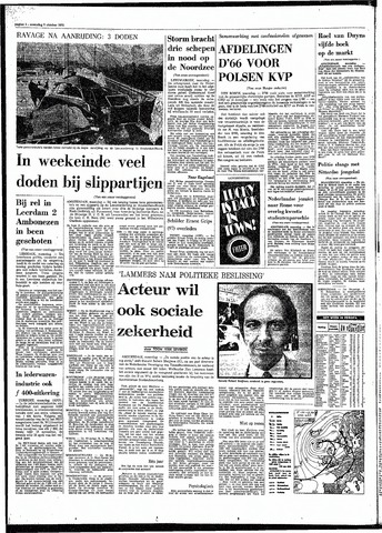 Rotterdamsch Parool / De Schiedammer 1970-10-05