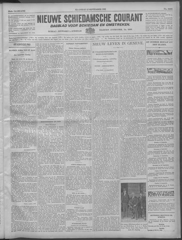 Nieuwe Schiedamsche Courant 1932-09-12