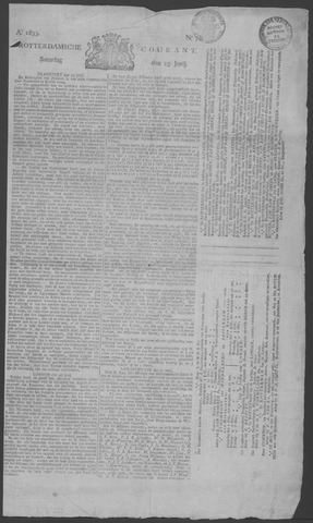 Rotterdamse Courant 1833