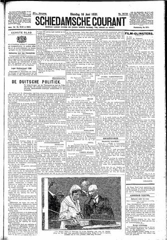 Schiedamsche Courant 1931-06-16