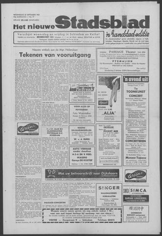Het Nieuwe Stadsblad 1961-09-27