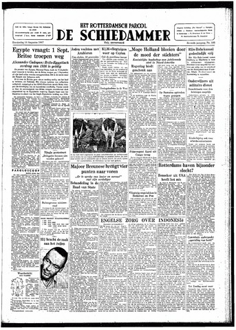 Rotterdamsch Parool / De Schiedammer 1947-08-14
