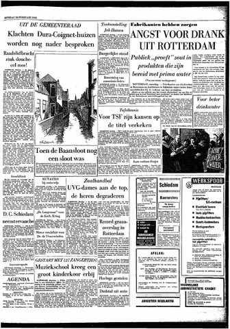 Rotterdamsch Parool / De Schiedammer 1963-02-26