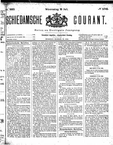 Schiedamsche Courant 1883-07-18