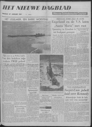 Nieuwe Schiedamsche Courant 1961-01-27