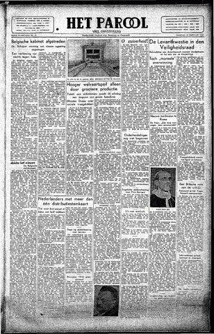 Rotterdamsch Parool / De Schiedammer 1946-02-19