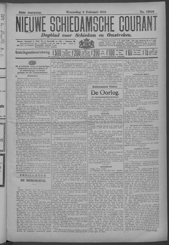 Nieuwe Schiedamsche Courant 1918-02-06