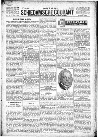 Schiedamsche Courant 1929-07-09