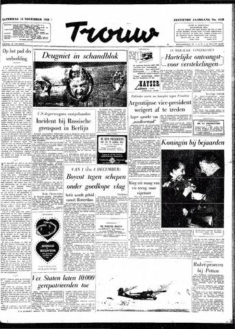 Trouw / De Rotterdammer 1958-11-15
